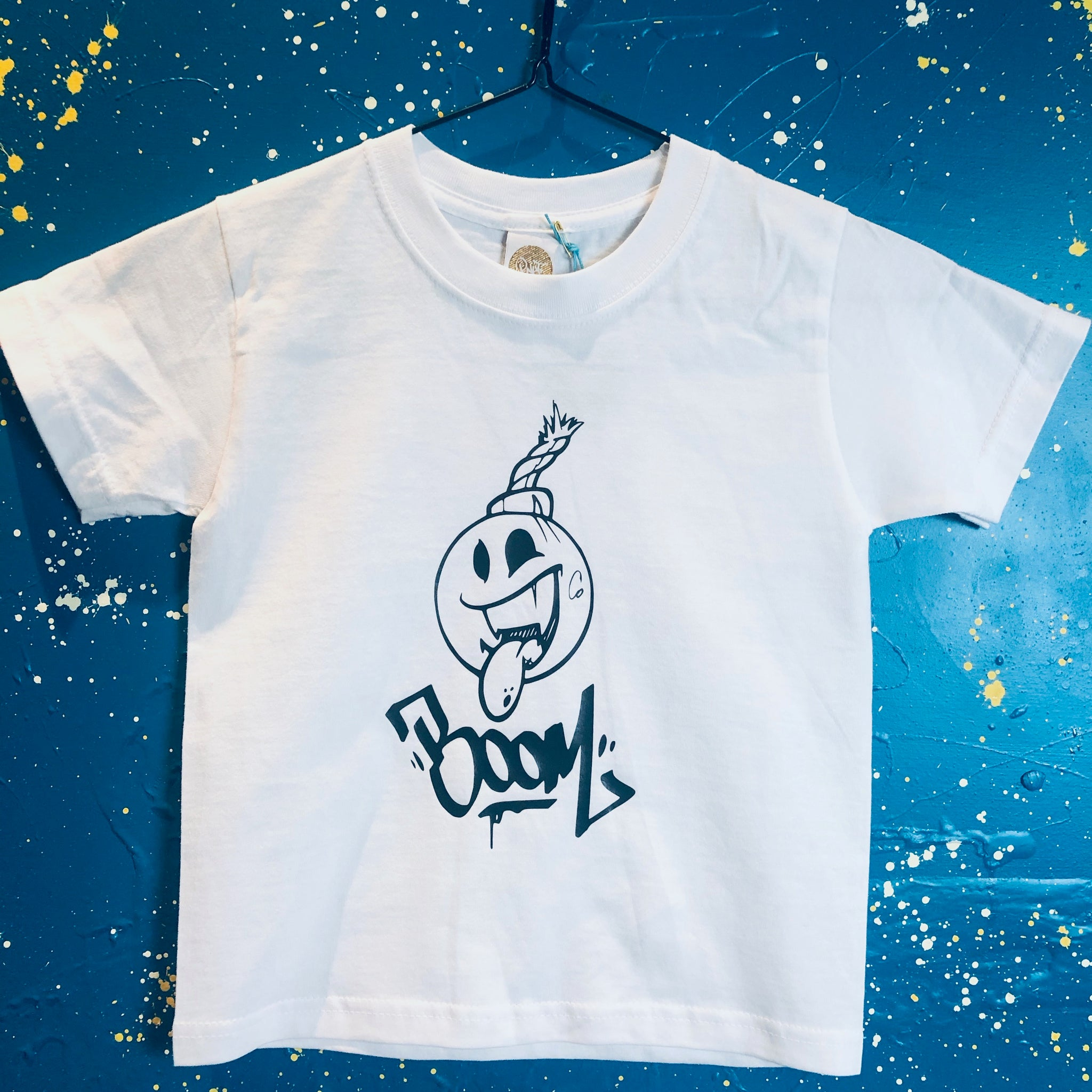 Sample - Boom! T-Shirt White