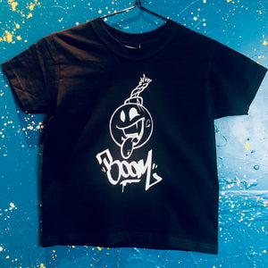Sample - Boom! T-Shirt Black