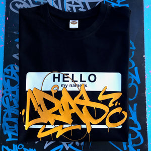 Adult's Hello My Name Is Custom T-Shirt