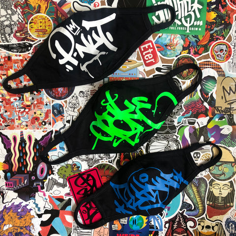 Custom Graffiti Face Masks