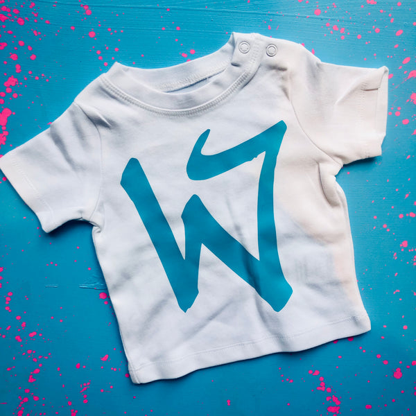 Kid's Big Letters T-Shirt