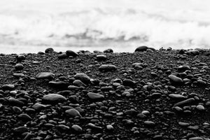 Maui Black Sand Beach 1.0, Limited Edition Print