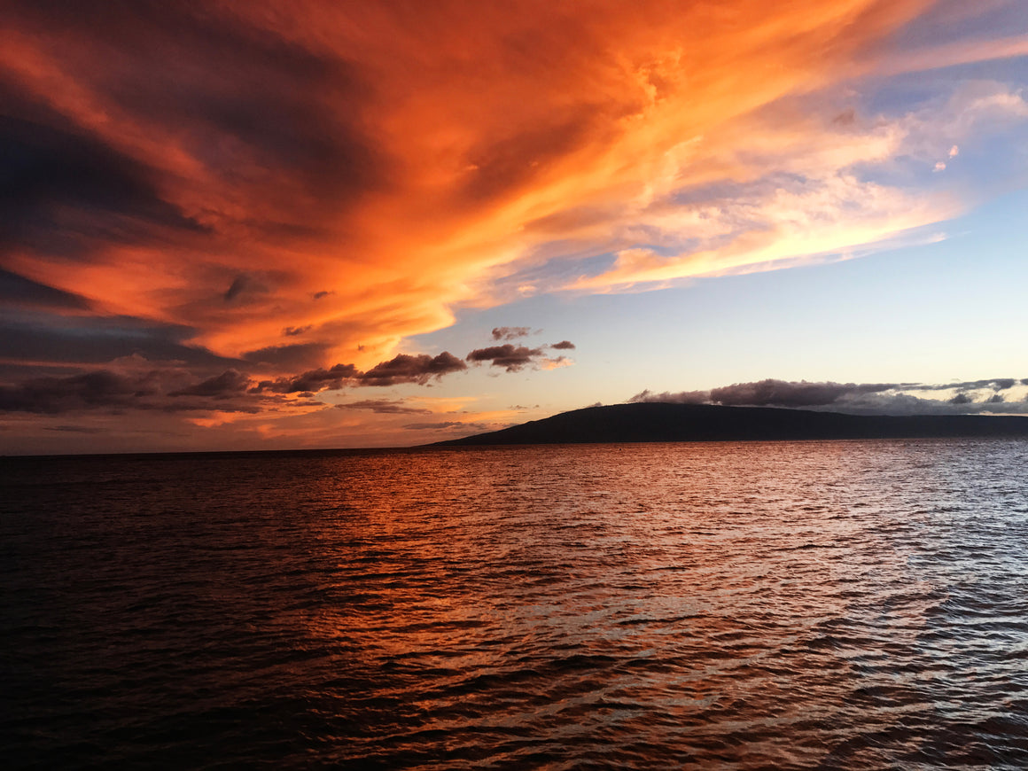 Maui Sunset 3.0, Limited Edition Print