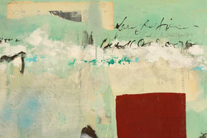 Love Letter, Original Abstract Mixed Media Painting