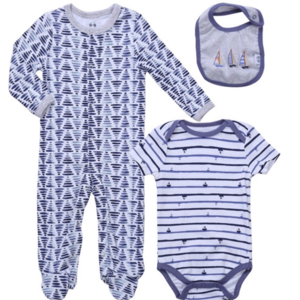 3pc Baby Layette Set