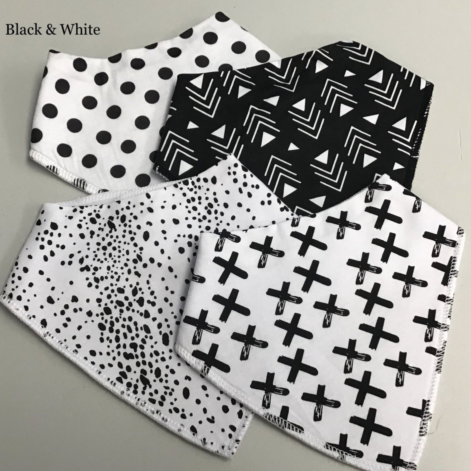 Organic Cotton Drool Bibs