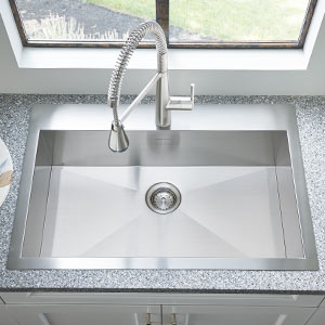 Dual Mount Kitchen Sinks