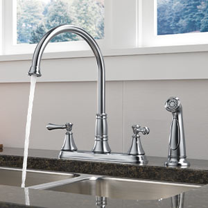 Kitchen Faucets with Side Sprayer