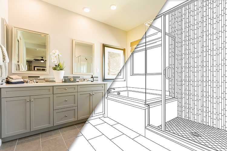 Plan ahead to turn your bathroom design into the room of your dreams.