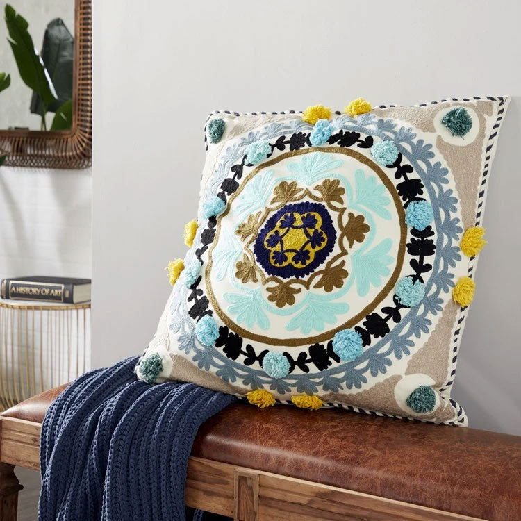 Bohemian pillow from Chelsea Grove