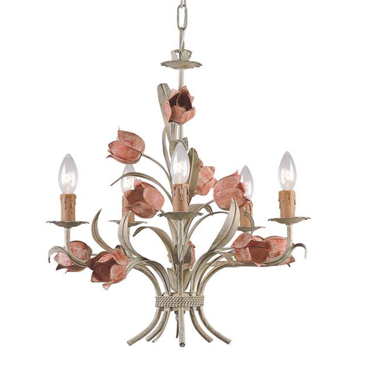 Crystorama 4805-SR Chandelier