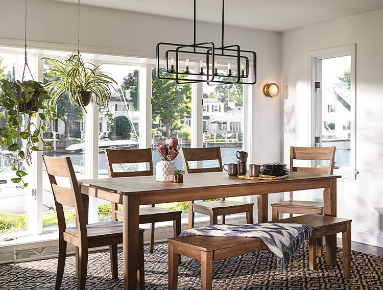 Layered Lighting in the Dining Room