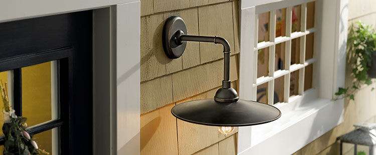 Upgrade your outdoor lighting to create curb appeal.