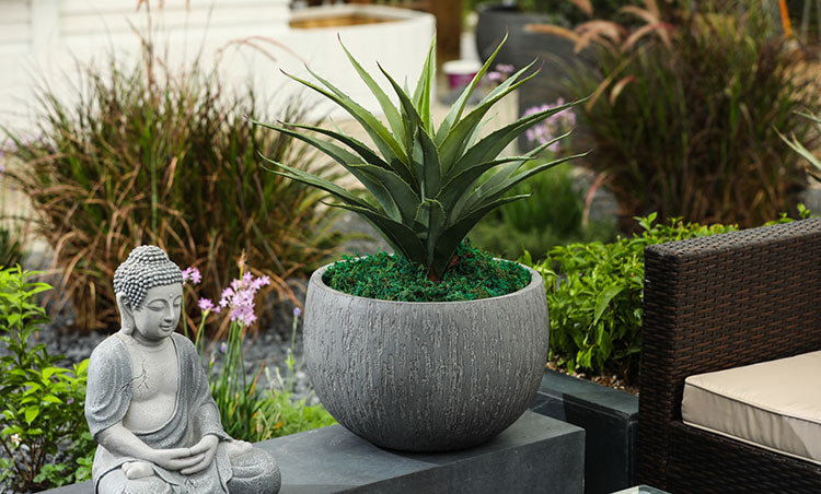 Add some personality with outdoor accents.