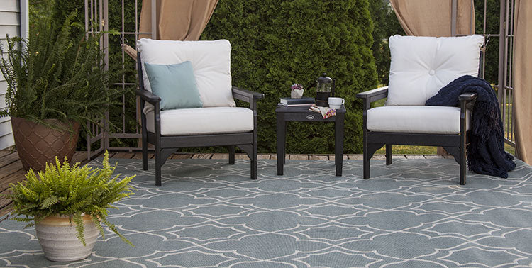Take a break in a separate seating area.