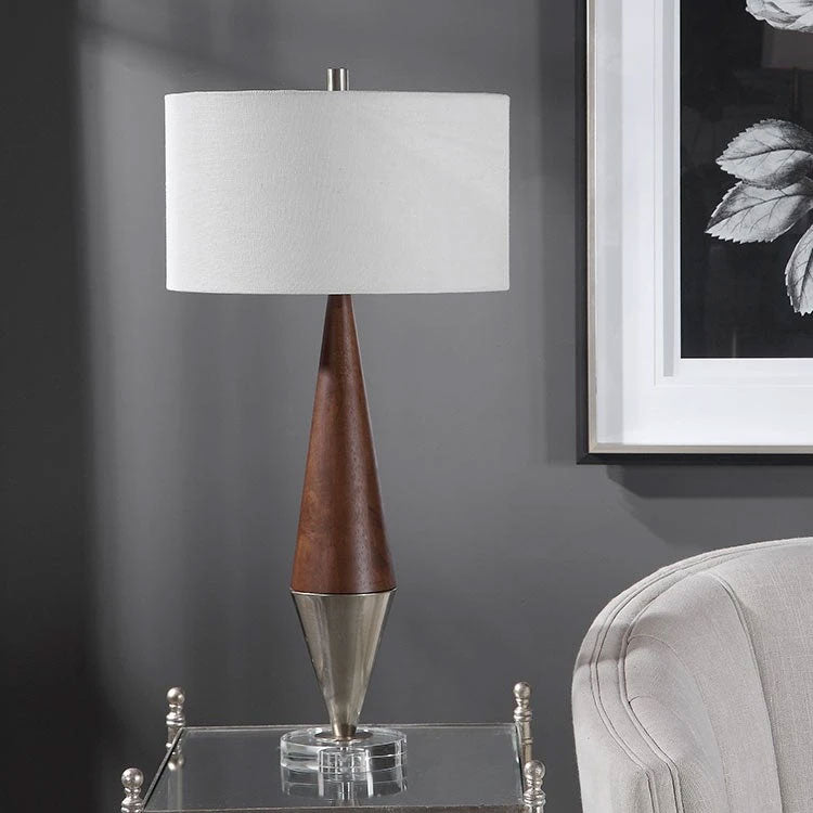 Uttermost Haldan Mid-Century Table Lamp by John Kowalsk