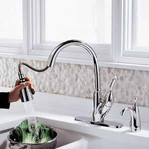 989-DST Kitchen/Kitchen Faucets/Pull Down Spray Faucets