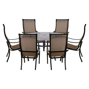 MANDN7PCRD Outdoor/Patio Furniture/Patio Dining Sets