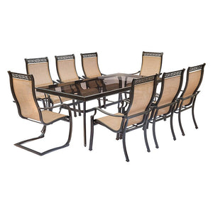MONDN9PCSP2G Outdoor/Patio Furniture/Patio Dining Sets