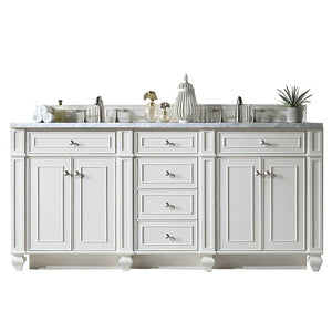 157-V72-CWH-3AF Bathroom/Vanities/Double Vanity Cabinets with Tops
