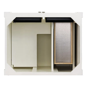 650-V30-CWH Bathroom/Vanities/Single Vanity Cabinets Only
