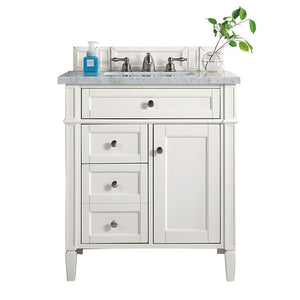 650-V30-CWH-3CAR Bathroom/Vanities/Single Vanity Cabinets with Tops