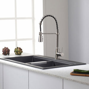 KPF-1612SS Kitchen/Kitchen Faucets/Semi-Professional Faucets