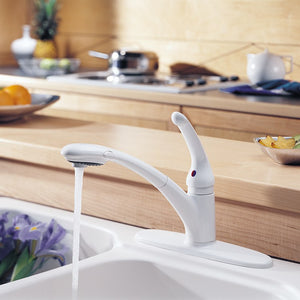 470-WH-DST Kitchen/Kitchen Faucets/Pull Out Spray Faucets