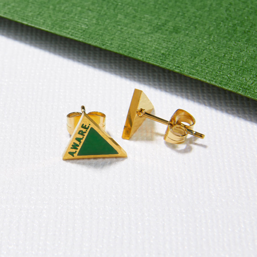 Green AWARE Earrings