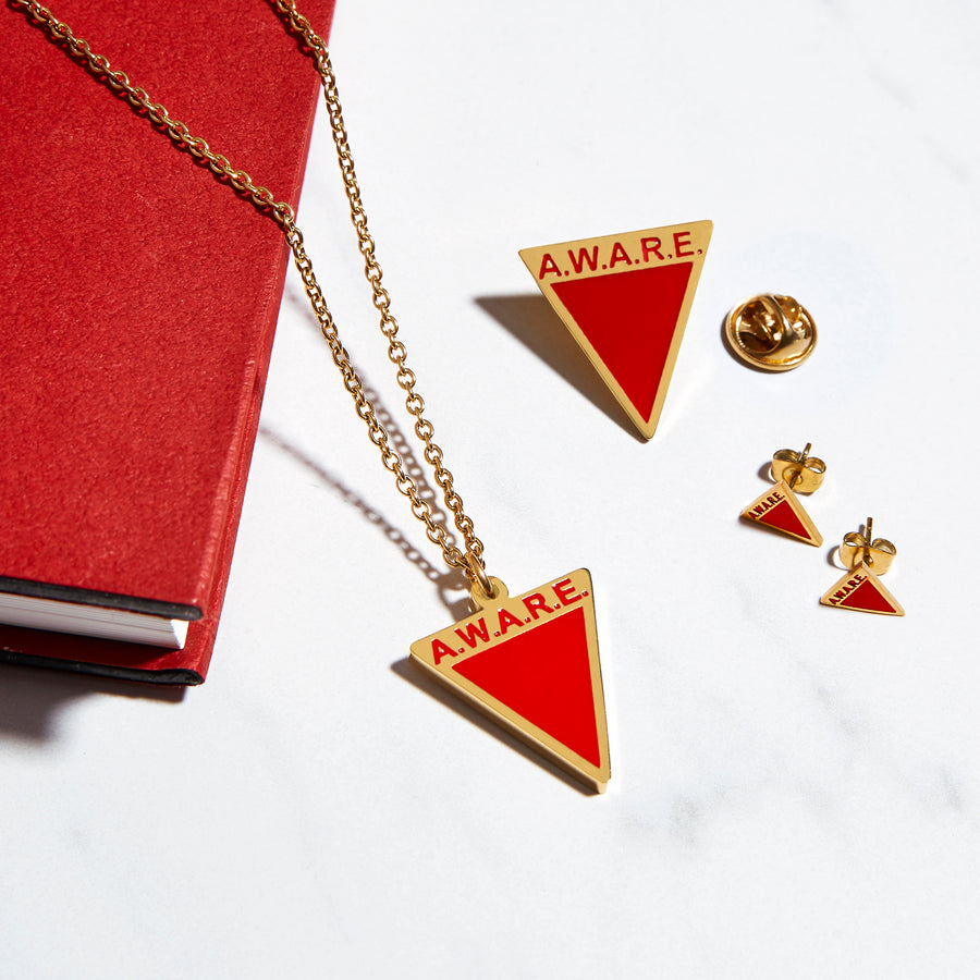 Red AWARE Necklaces