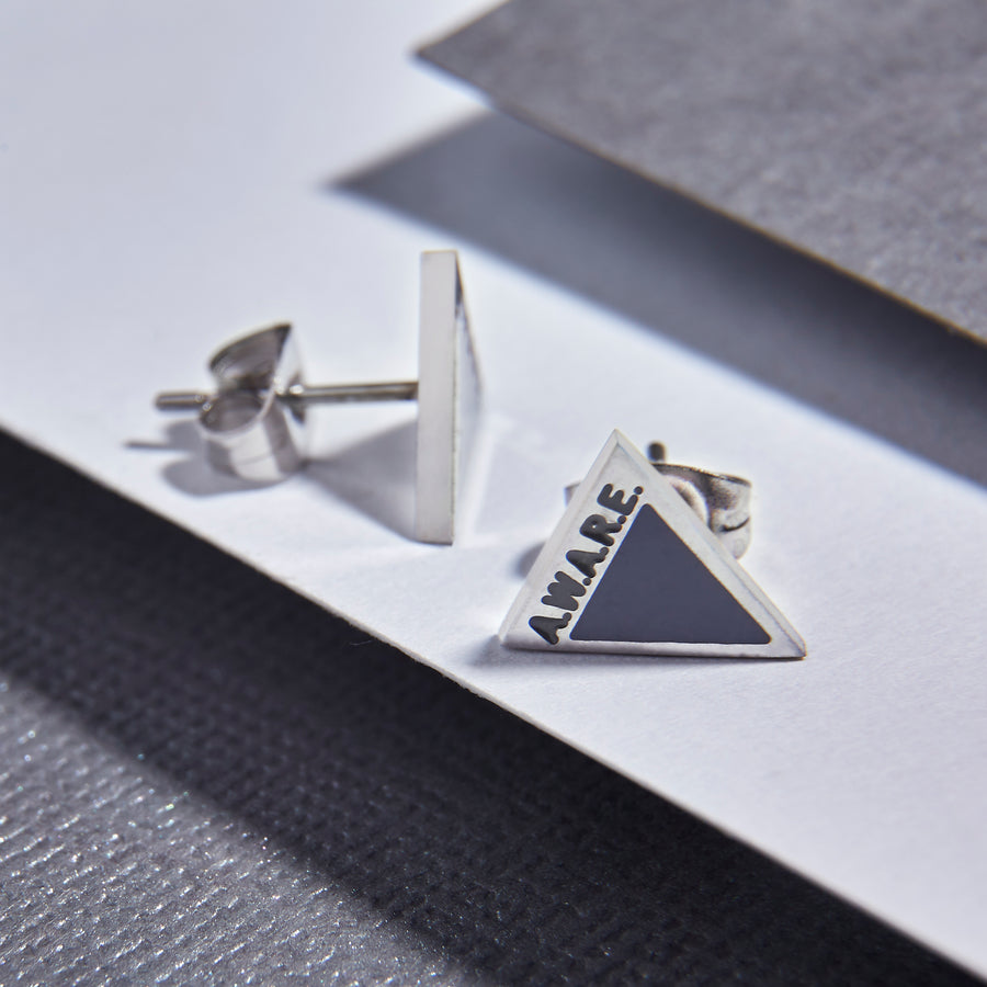 Grey AWARE Earrings