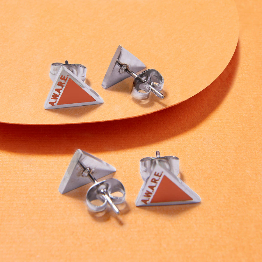 Orange AWARE Earrings