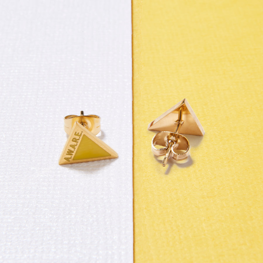 Yellow AWARE Earrings