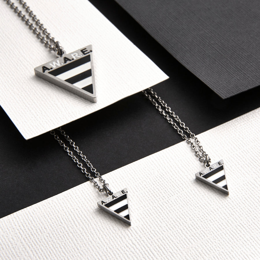 Dainty Zebra AWARE Necklaces