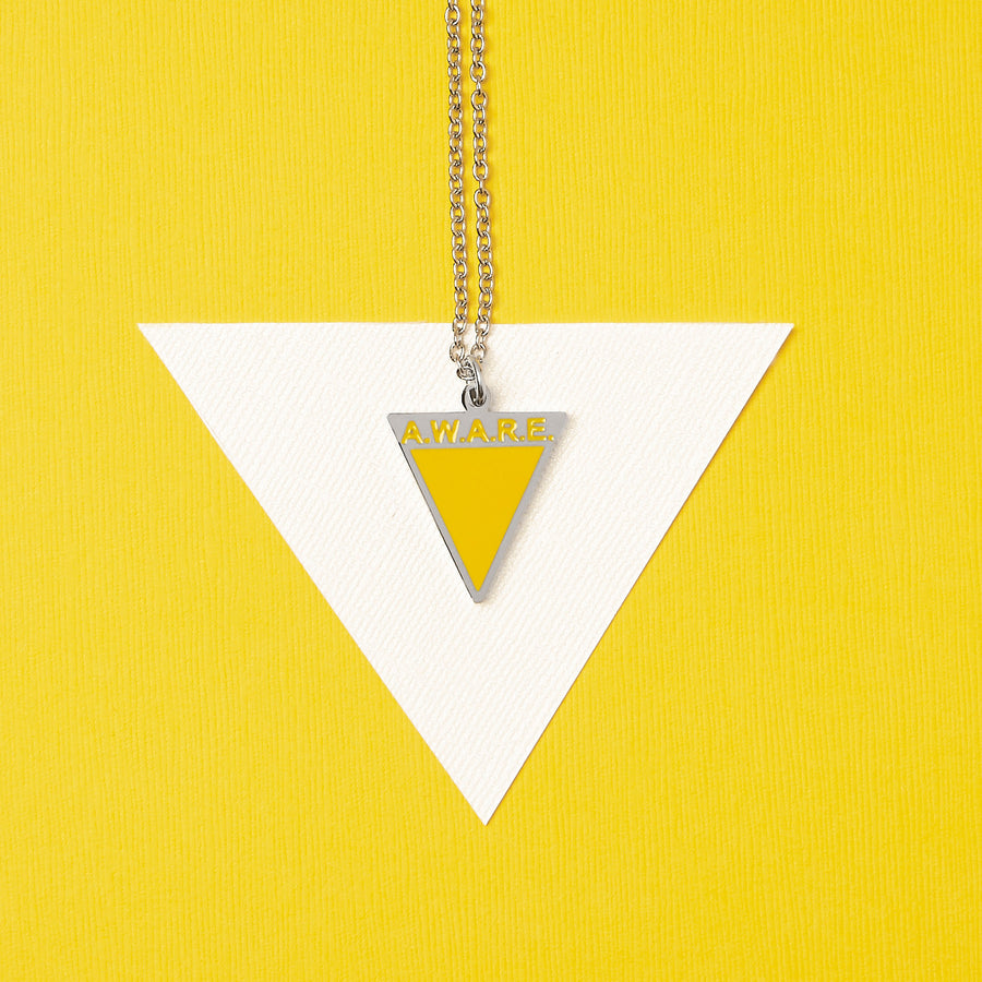 Yellow AWARE Necklaces - Gold