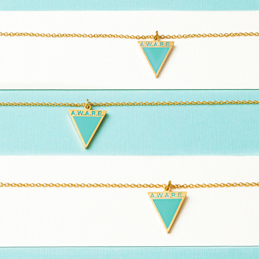 Teal AWARE Necklaces