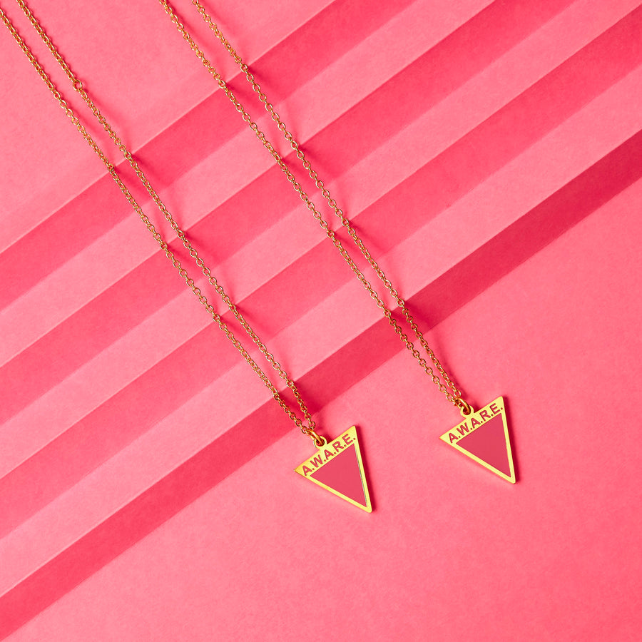 Pink Aware Necklaces