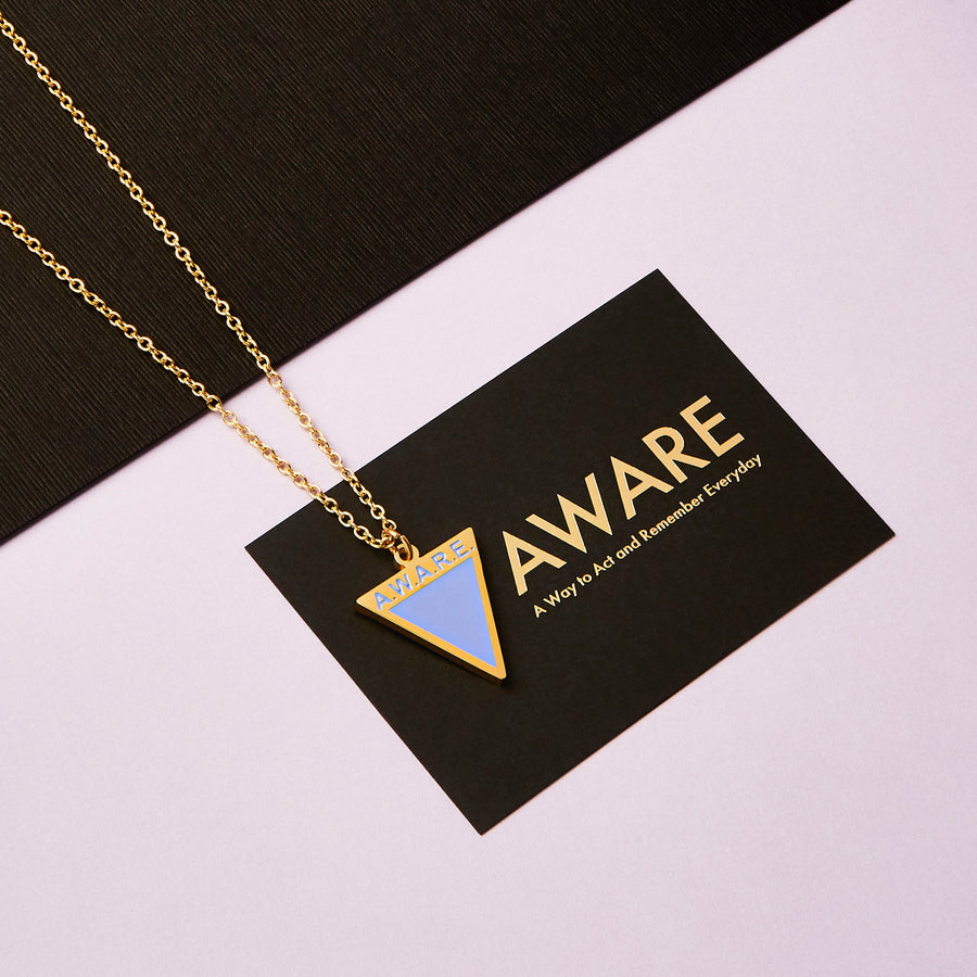 Periwinkle AWARE Necklaces