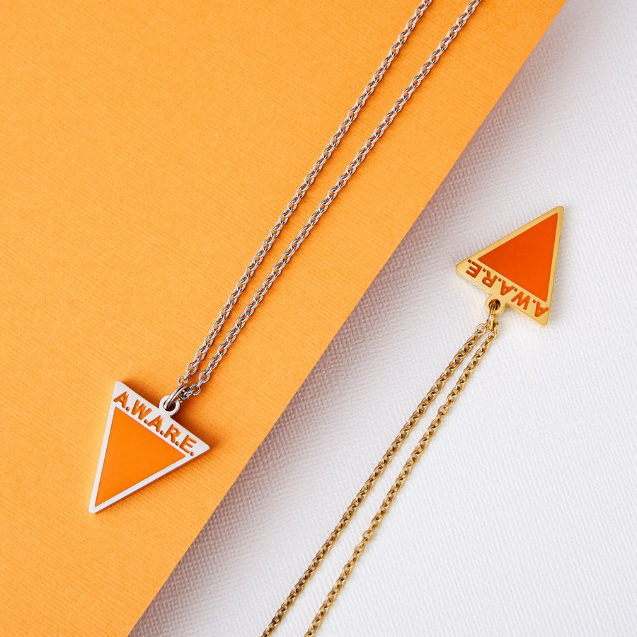 Orange AWARE Necklaces