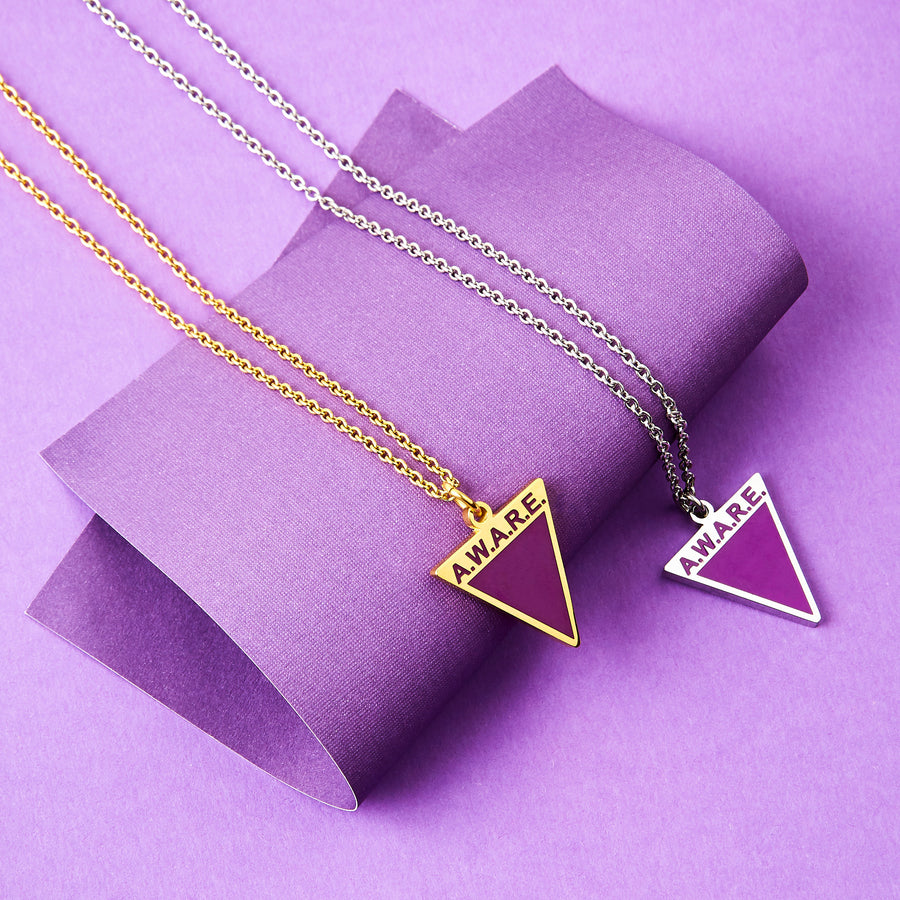 Purple AWARE Necklaces