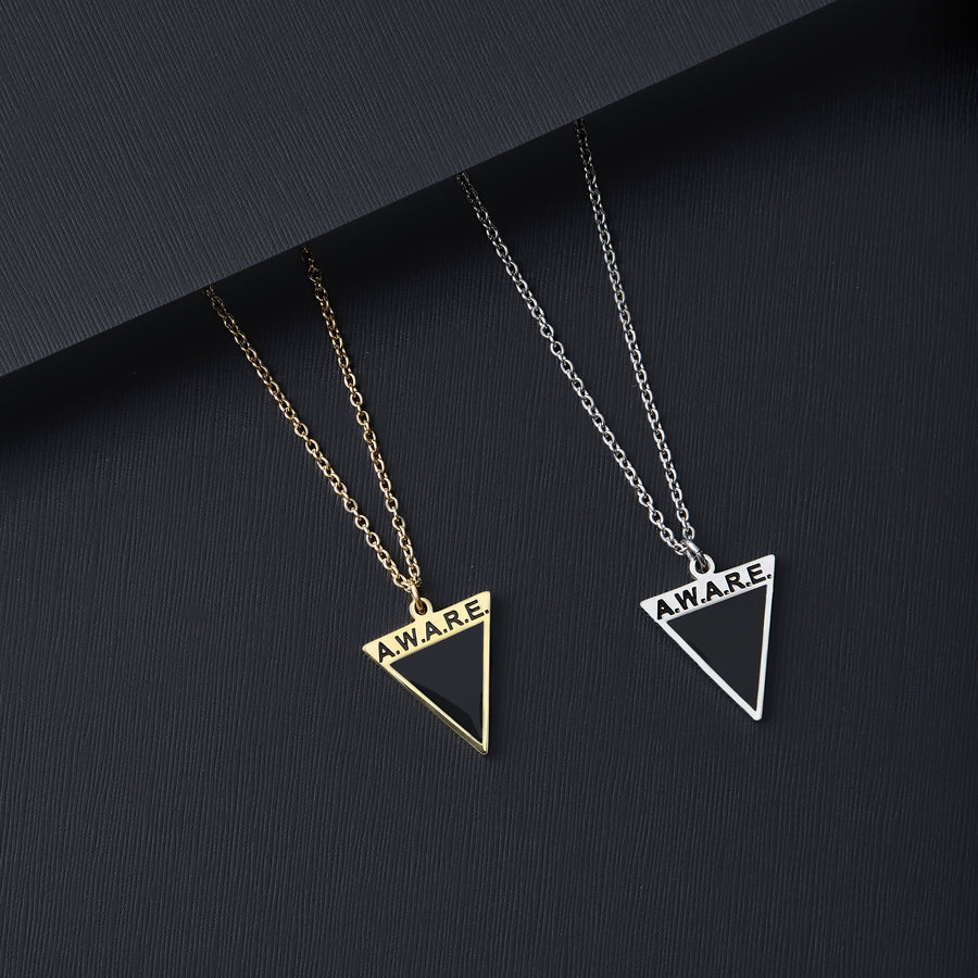Black AWARE Necklaces