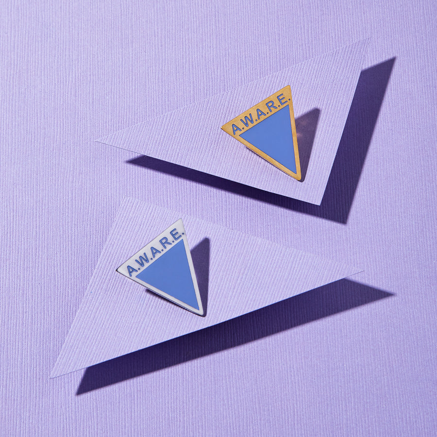 Periwinkle AWARE Pins