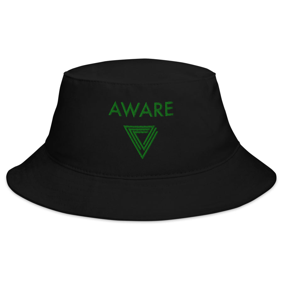 Green AWARE Bucket Hats