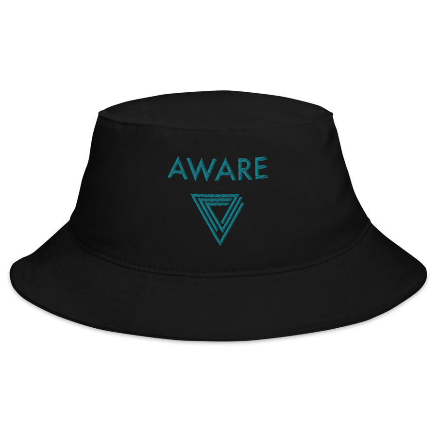 Teal AWARE Bucket Hats