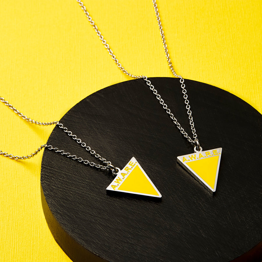 Yellow AWARE Necklaces