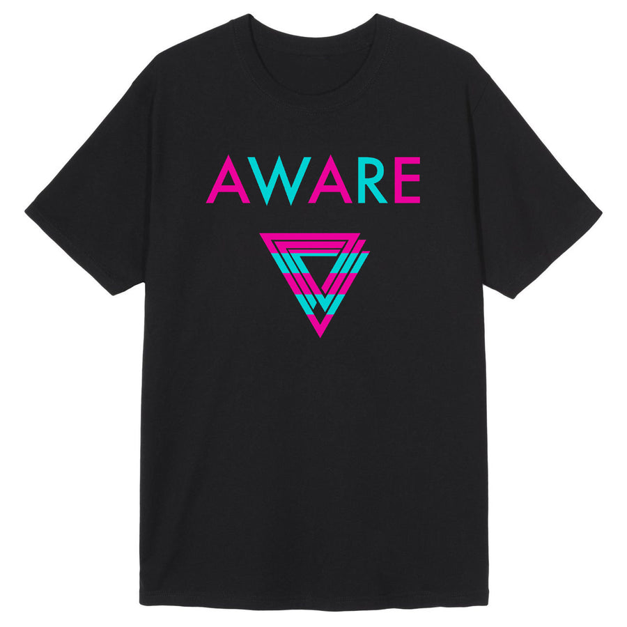 Pink and Teal AWARE T-Shirts