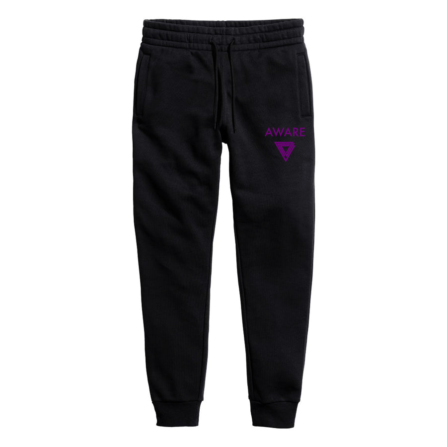 Purple AWARE Joggers
