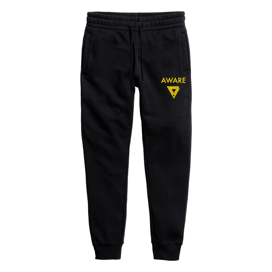 Yellow AWARE Joggers