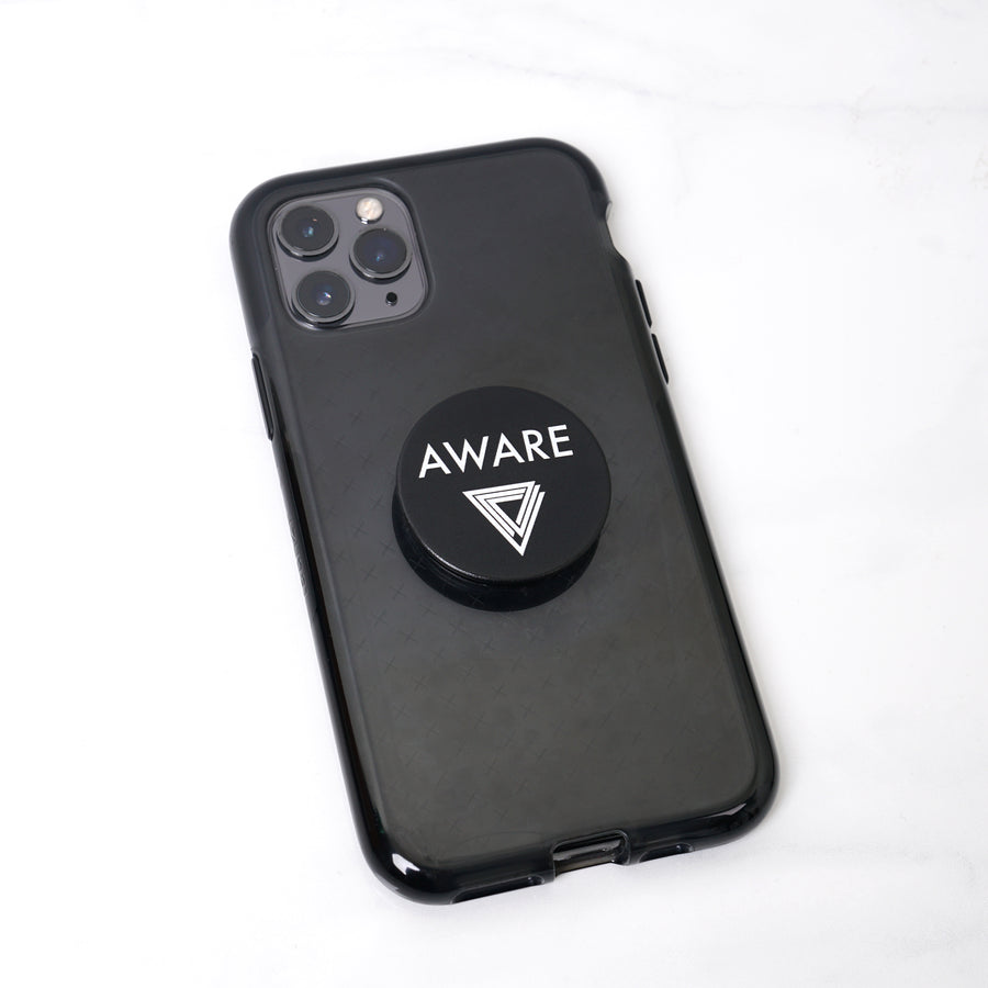 White AWARE Pop Socket