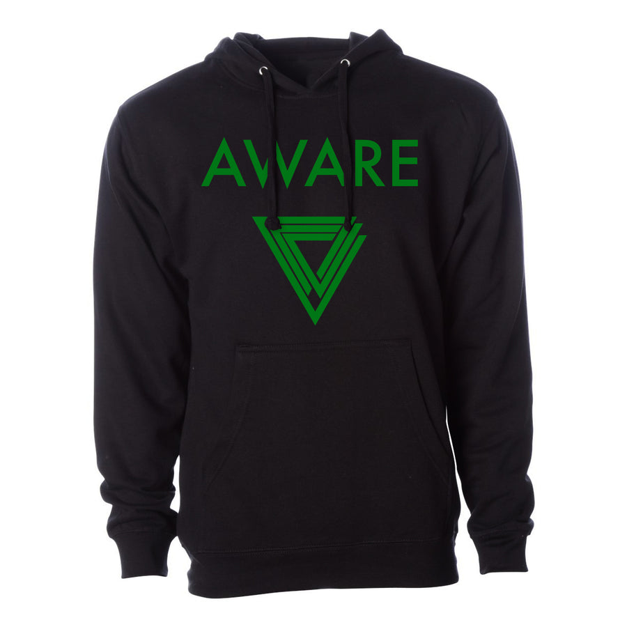 Green AWARE Hoodies